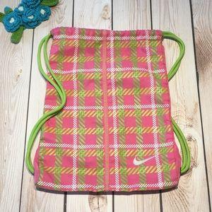 Nike women's canvas drawstring bag